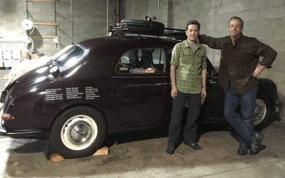 Car Delivered to Shipping Agent in California