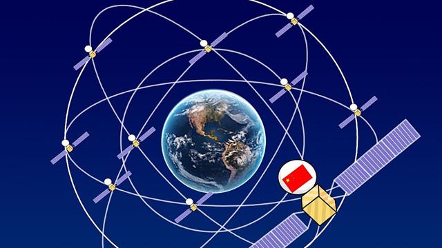 北斗卫星闪耀一带一路