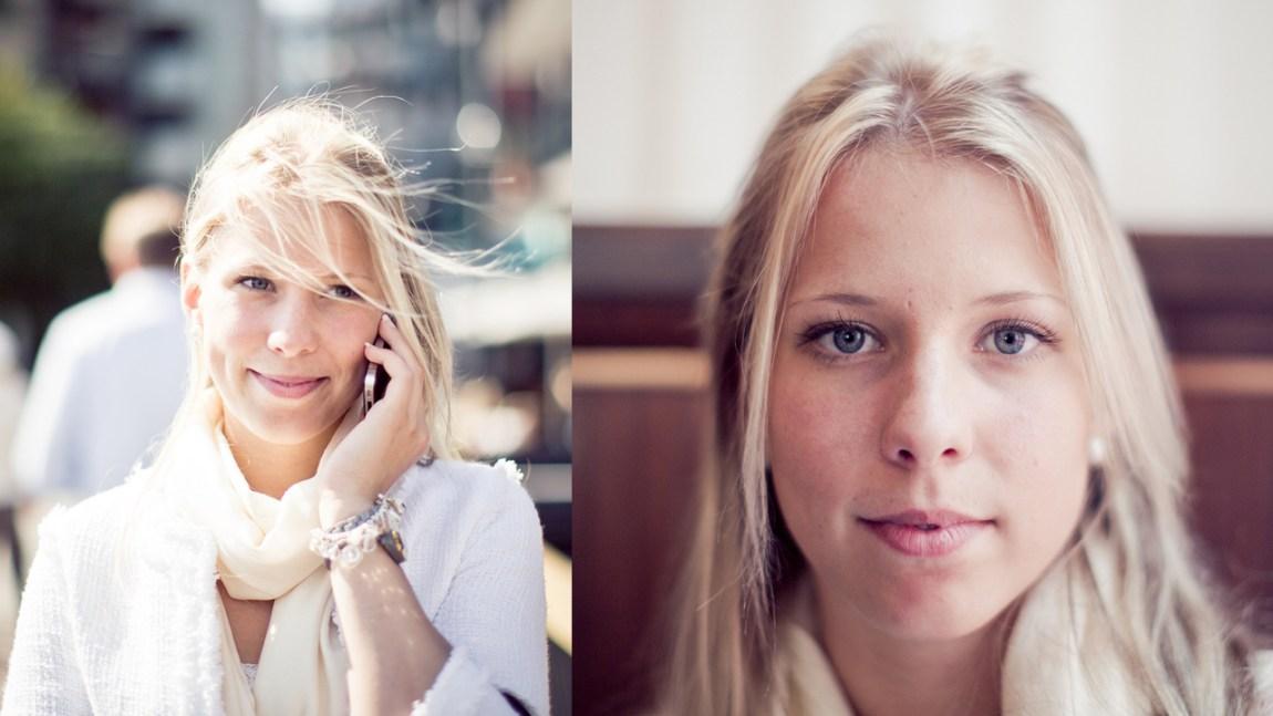 Nina Christine Billkvam utdanner seg til eiendomsmegler og er opptatt av interiør (Foto: Tom Øverlie, NRK)