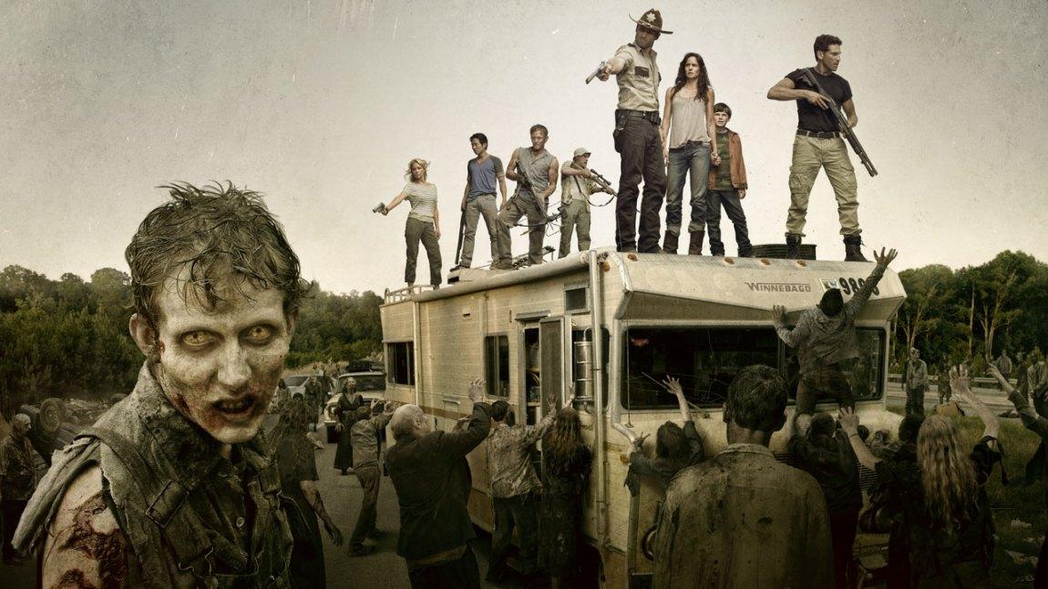 Fra den populære tv-serien The Walking Dead (Foto: Fox Crime)