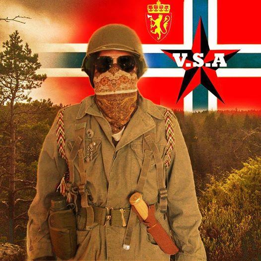 Bilde fra Vestlandsk separatistarmés Facebookside.