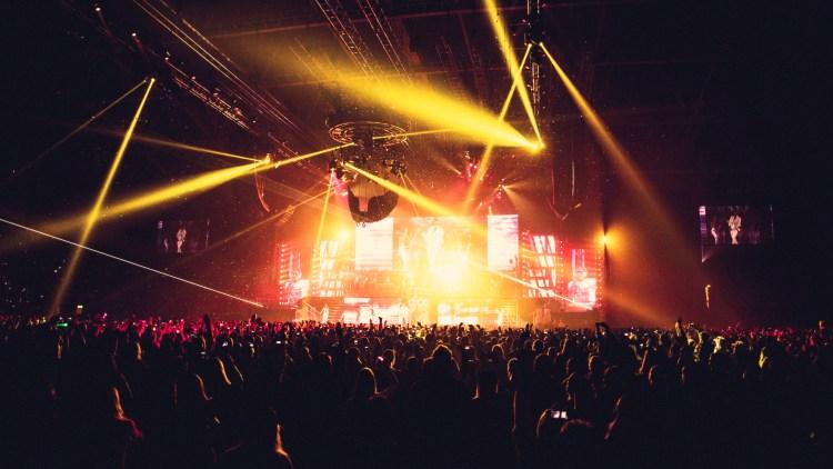 Justin Bieber - Telenor Arena 16. april 2013. (Foto: Kim Erlandsen, NRK)