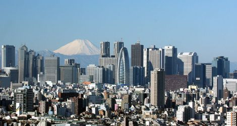 Mount Fuji og Tokyo sentrum (Foto: Wikipedia)