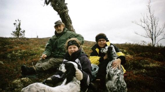 Familien Høivik på tur (Foto: Privat)