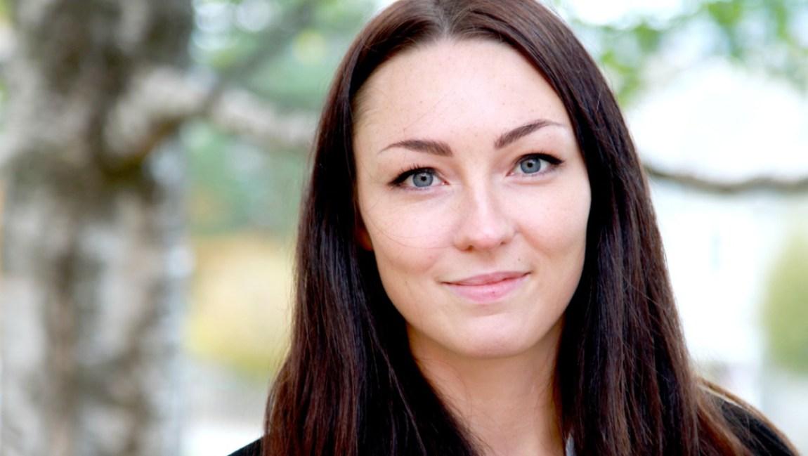 Sandra Rogne (Foto: Rune Kjær Valberg/ NRK)