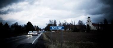 Kirkenær er en bygd i Hedmark med rundt 1000 innbyggere. Foto: Anton Ligaarden, NRK