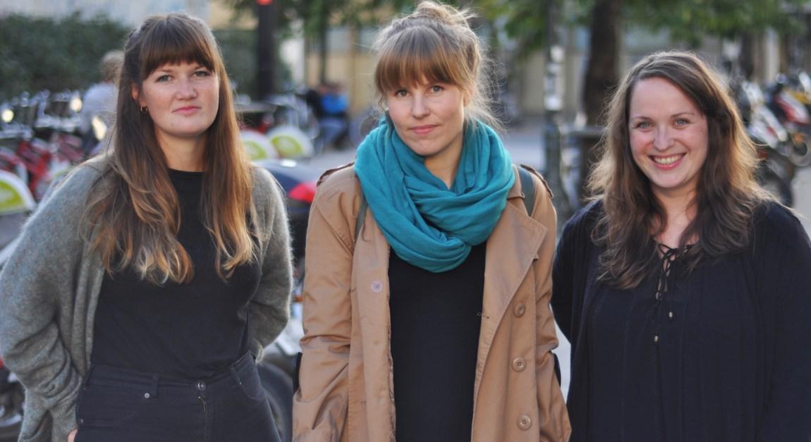 Sarah, Ragni og Kristin har laget Feminalen, for å fremme kvinnelige musikere (Foto:  Hailey K. Hammer)