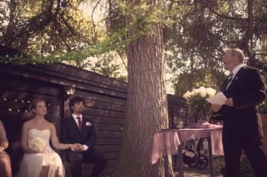 Sommeren 2014 giftet Ingvild seg med sin argentinske kjæreste Walter, slik at han skulle kunne få opphold i Norge. (Foto: Privat)