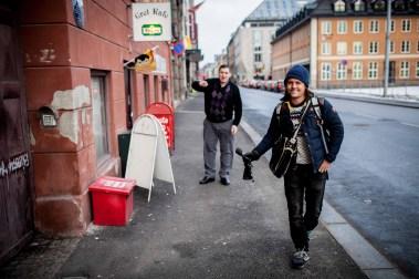 Grei Kafé er siste kro før danskebåten og Oslos eldste skjenkestue. (Foto: Matias Nordahl Carlsen, NRK)