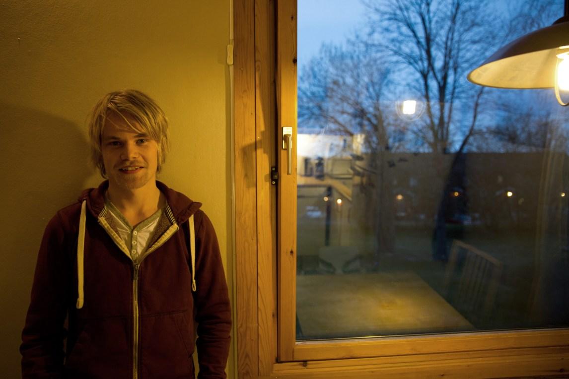 Hogne Jørgensen (22). (Foto: Anne Dorte Lunås, NRK)