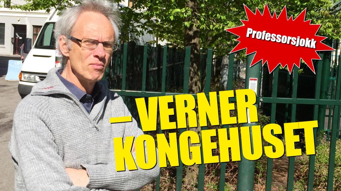 Kjendispressa i Norge trykker ikke lettkledde bilder fra Kongehuset. – Folk vil ikke ha det, sier professor i journalistikk, Paul Bjerke. (Foto: Webjørn S. Espeland / Fotofikling: Kim Erlandsen, NRK)