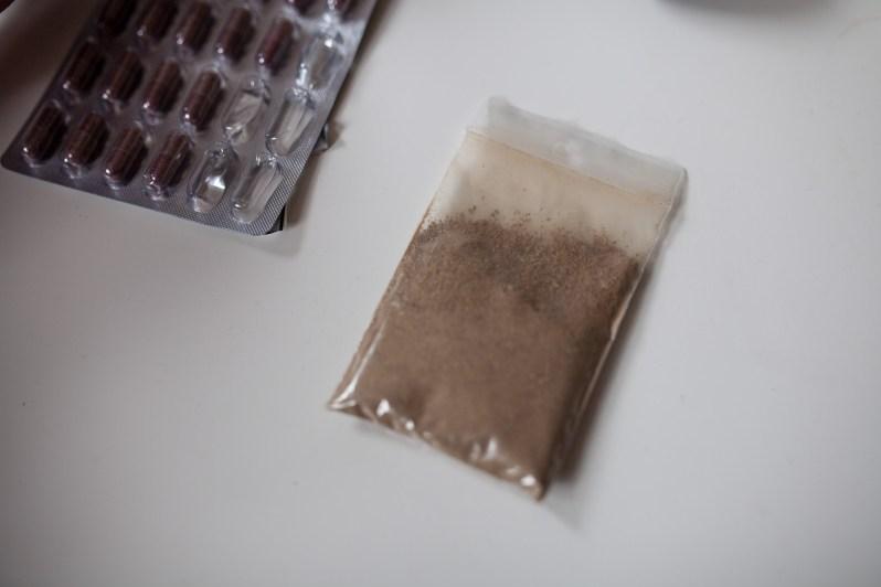 Ibogain-pulver. Foto: Matias Nordahl Carlsen