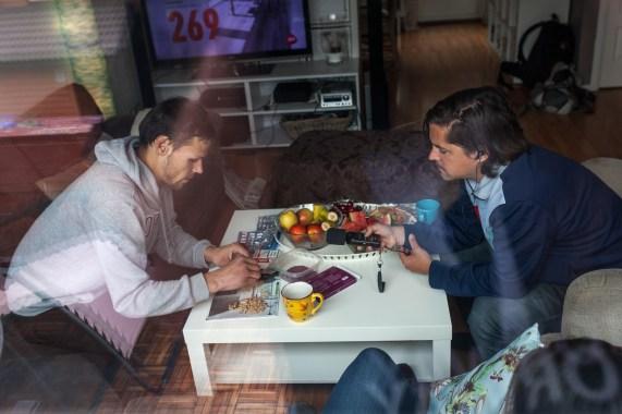 Lovlig mekking på tv-bordet. Foto: Matias Nordahl Carlsen