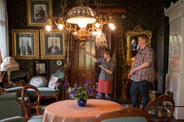 Første omvisning på Breidablikk museum. Men Stig Roar kan det meste. Foto: Matias Nordahl Carlsen
