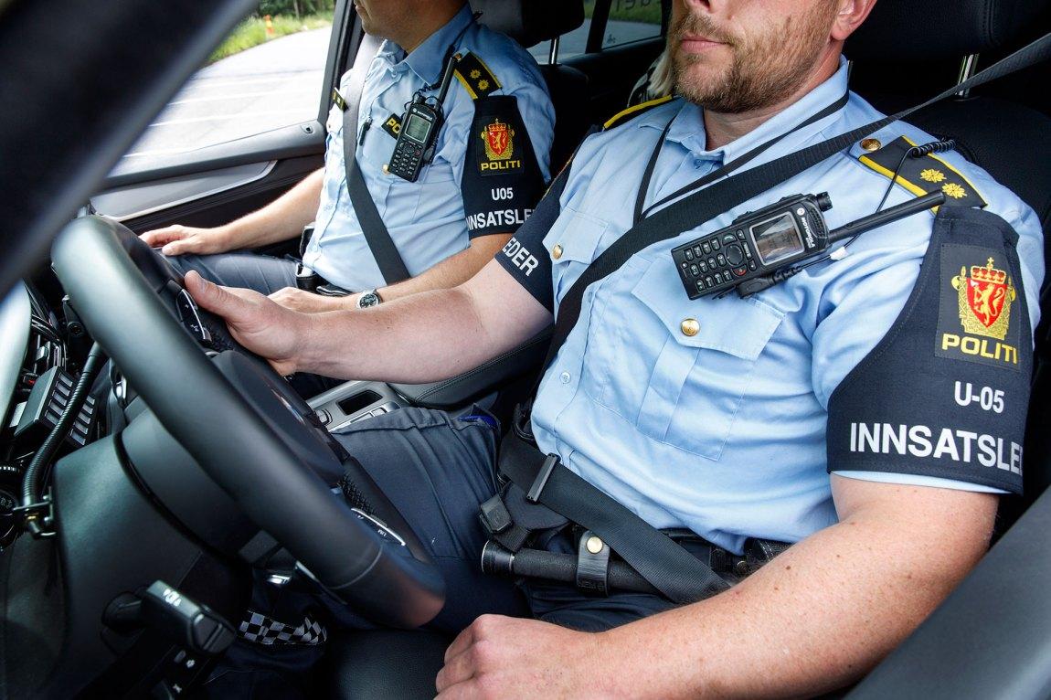 Det er mange som drømmer om politihverdagen - men hva skal egentlig til for å komme inn på høgskolen? Foto: Gorm Kallestad, NTB Scanpix