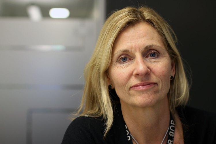 Psykolog Kari Slinning synes det er viktig at kvinner som opplever fødselsdepresjon, tør å fortelle andre om hvordan de har det. Foto: Nora Brønseth, NRK P3