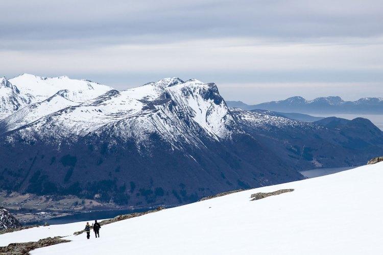 For mange basehoppere er turene en stor del av opplevelsen - men ikke for alle. Foto: Martin Aas, NRK P3