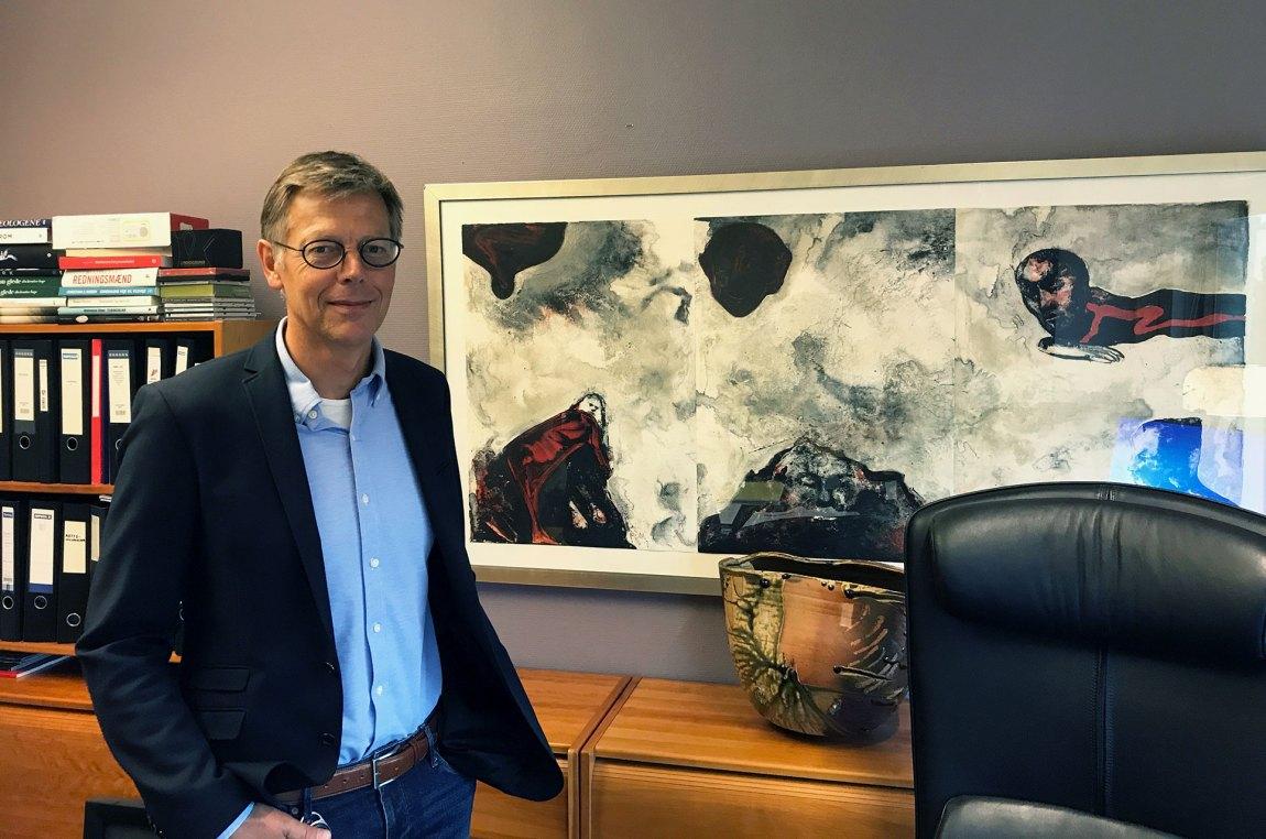 NRK har utvilsomt skjerpet seg når det gjelder bruk av midlertidig ansatte, mener personaldirektør Olav Nyhus. Foto: Webjørn S. Espeland, NRK P3