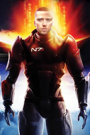 Mass Effect 2 / Aksel Hennia. (Foto: EA / Scanpix - Knut Falck)