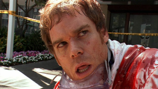 Dexter Morgan (Michael C. Hall) på jobb. (Foto: Showtime)