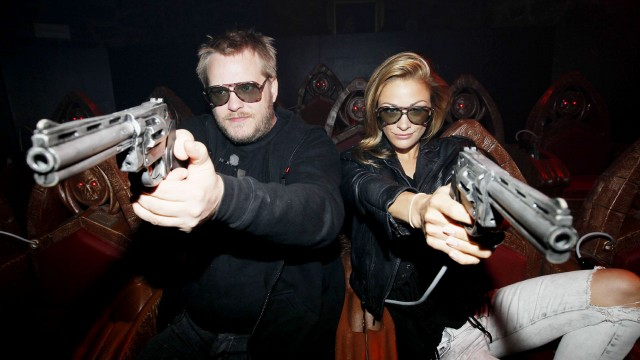 Jeppe Beck Laursen og Jenny Skavlan. (Foto: Cornelius Poppe / Scanpix)