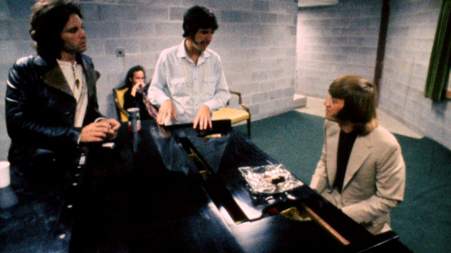 The Doors i studio. (Foto: ORO FILM)