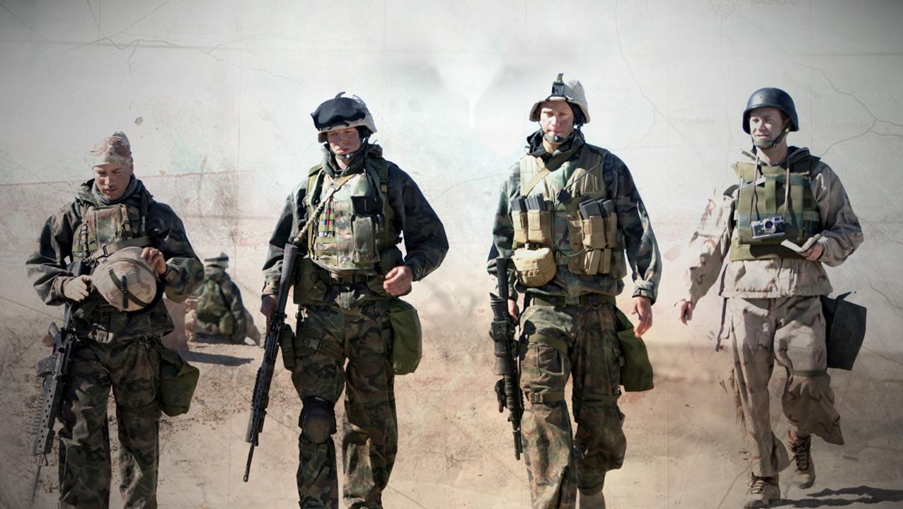 leter etter et tilfeldig møte hær hot video