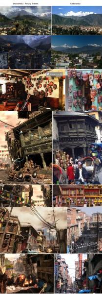 Uncharted 2 i Kathmandu. (Foto: SCEE og Gamekult.com)