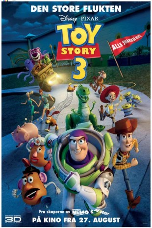 Toy Story 3. (Foto: Walt Disney Norway)