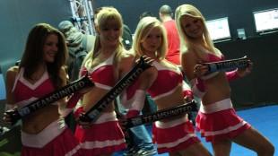 GamesCom 2010 - Boothbabes. (Foto: NRK / Rune Håkonsen)