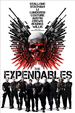 The Expendables plakat. (Foto: Euforia Film)