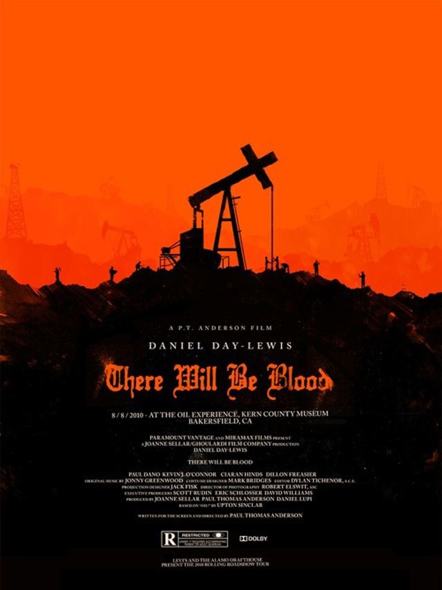 There Will Be Blood (Ill: Olly Moss)