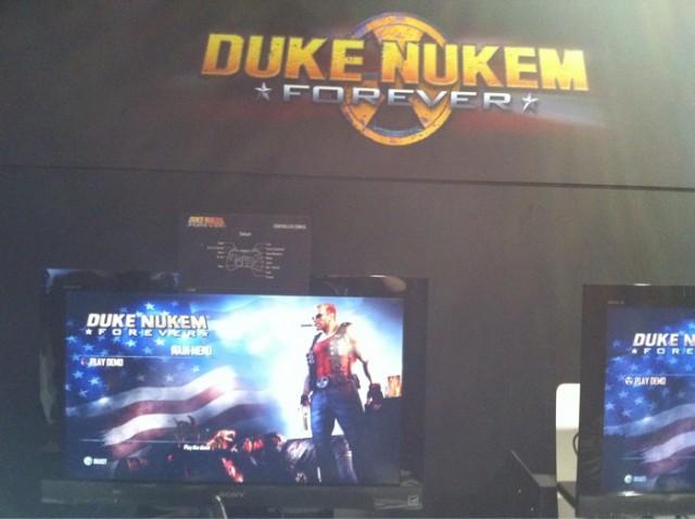 Duke Nukem Forever @ PAX 2010 (Foto: 2K Games @ Twitter)