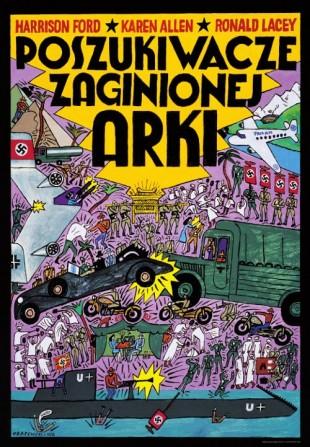 Polsk filmplakat. (Med tillatelse fra Polishposter.com)