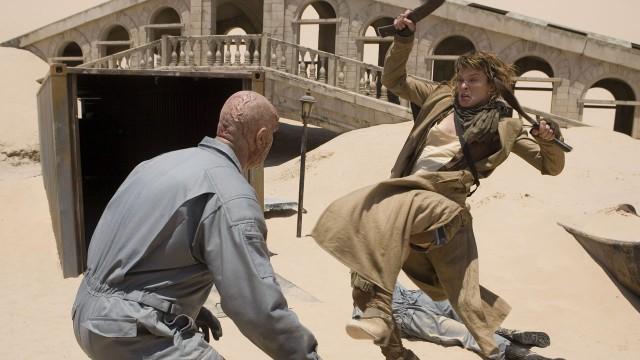 Milla Jovovich i Resident Evil: Extinction. (Foto: Walt Disney Studios Motion Pictures Norway)
