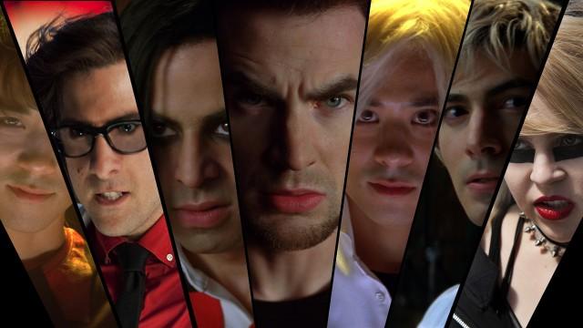 De syv onde ekskjærestene som må bekjempes i Scott Pilgrim vs. The World. (Foto: United International Pictures)