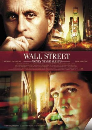 Wall Street: Money Never Sleeps plakat. (Foto: Twentieth Century Fox Norway)