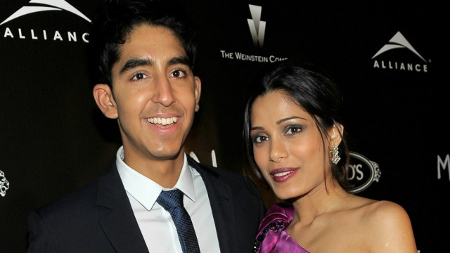 Dev Patel og Freida Pinto i bolly-hollywoodproduskjonen fra 2008. (Foto: Charley Gallay/Getty Images)