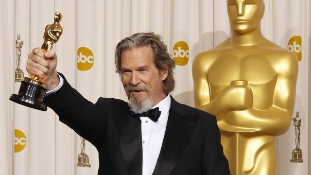 Jeff Bridges - Oscarutdelingen 2010. (REUTERS/Lucy Nicholson)