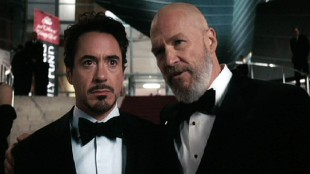 Iron Man - Robert Downey Jr. og Jeff Bridges. (Foto: Paramount Pictures)