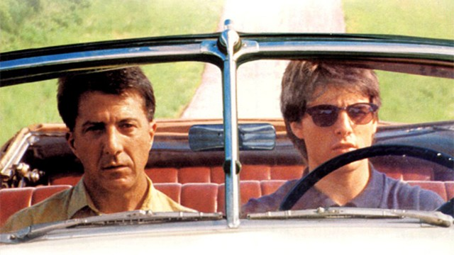 Dustin Hoffman og Tom Cruise i Rain Man. (Foto: United Artists )
