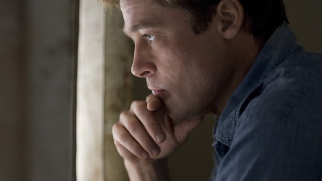 Brad Pitt spiller hovedrollen i Den fantastiske historien om Benjamin Button (Foto: Sandrew Metronome).