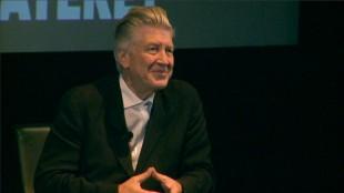 David Lynch på Filmens Hus. (Foto: NRK)
