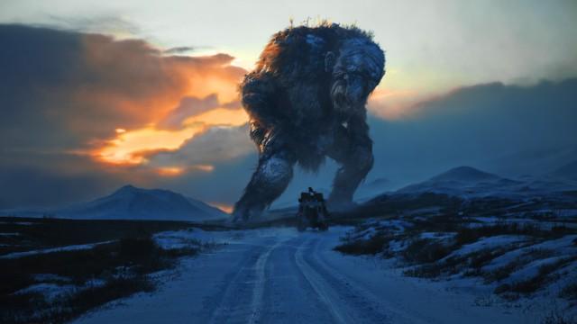På jakt etter noe stort i Trolljegeren. (Foto: SF Norge)