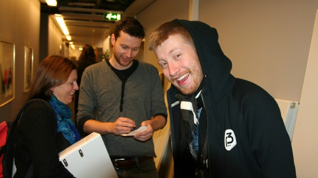 Tekno-innspilling høst 2010. (Foto: NRK / Rolf Martin Krey)