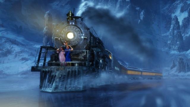 Turen går til Nordpolen i Polarekspressen. (Foto: Sandrew Metronome)