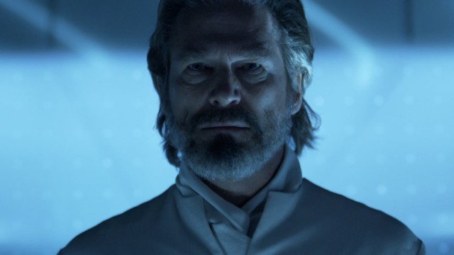 "Jeff ""The Dude"" Bridges i TRON Legacy. (Foto: Walt Disney Studios Motion Pictures Norway)"