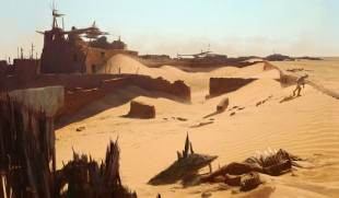 Uncharted 3 village art. (Foto: Naughty Dog)