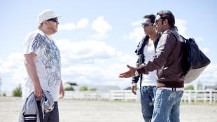 Nico, Ali og Bobby i Tomme tønner 2 - Det brune gullet. (Foto: Euforia Film)