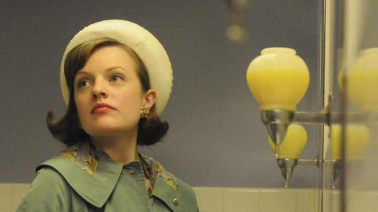 Elisabeth Moss spiller Peggy Olson i Mad Men S04. (Foto: Star Media Entertainment)